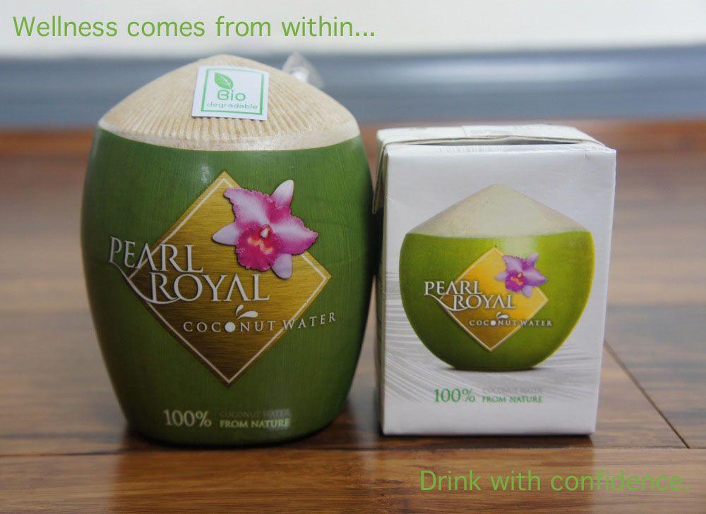 Acqua di cocco Pearl Royal