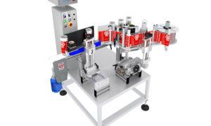 Etichettatrice high-tech per lattine di birra artigianale