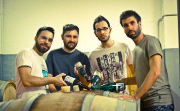Da sinistra: Matteo D'Ulisse, Luca Sartorelli, Mario Di Bacco, Andrea Marzocchi