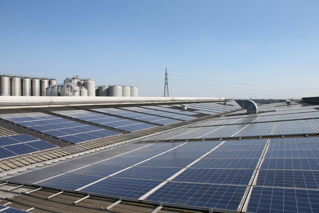 HEINEKEN Italia_Pannelli solari birrificio Comun Nuovo BG