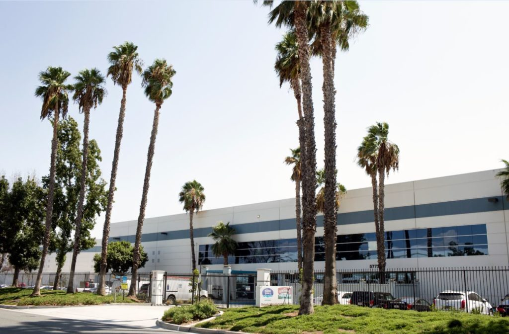 Stabilimento Nestlé Waters in California