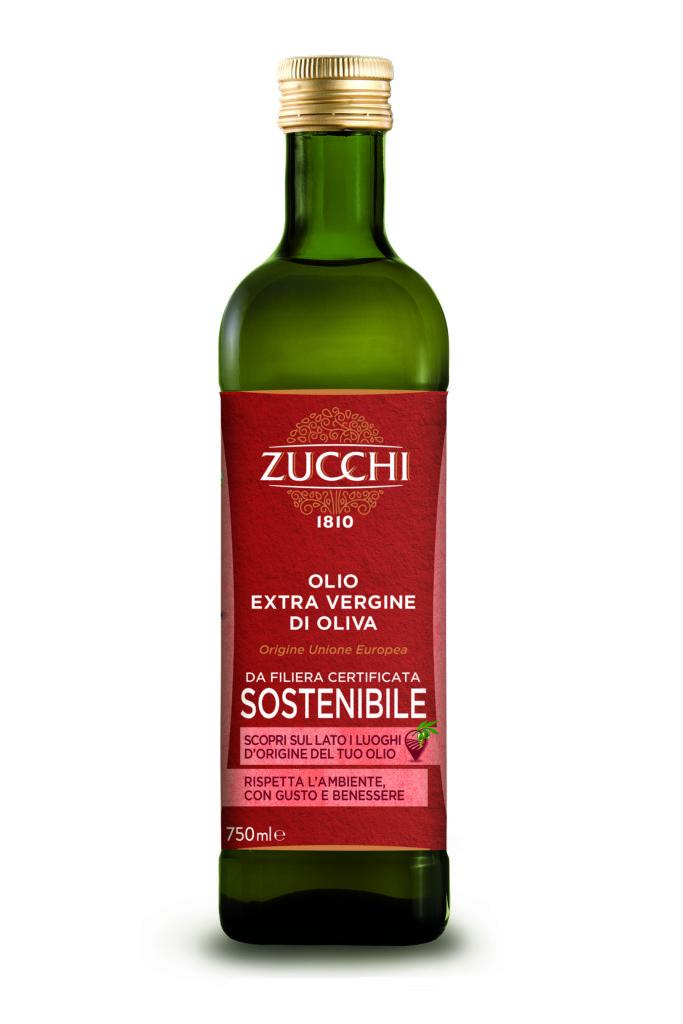 l'Olio EVO Sostenibile dell'Unione Europea di Oleificio Zucchi