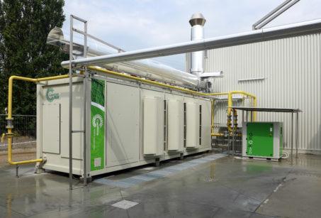 impianto turbina oil free