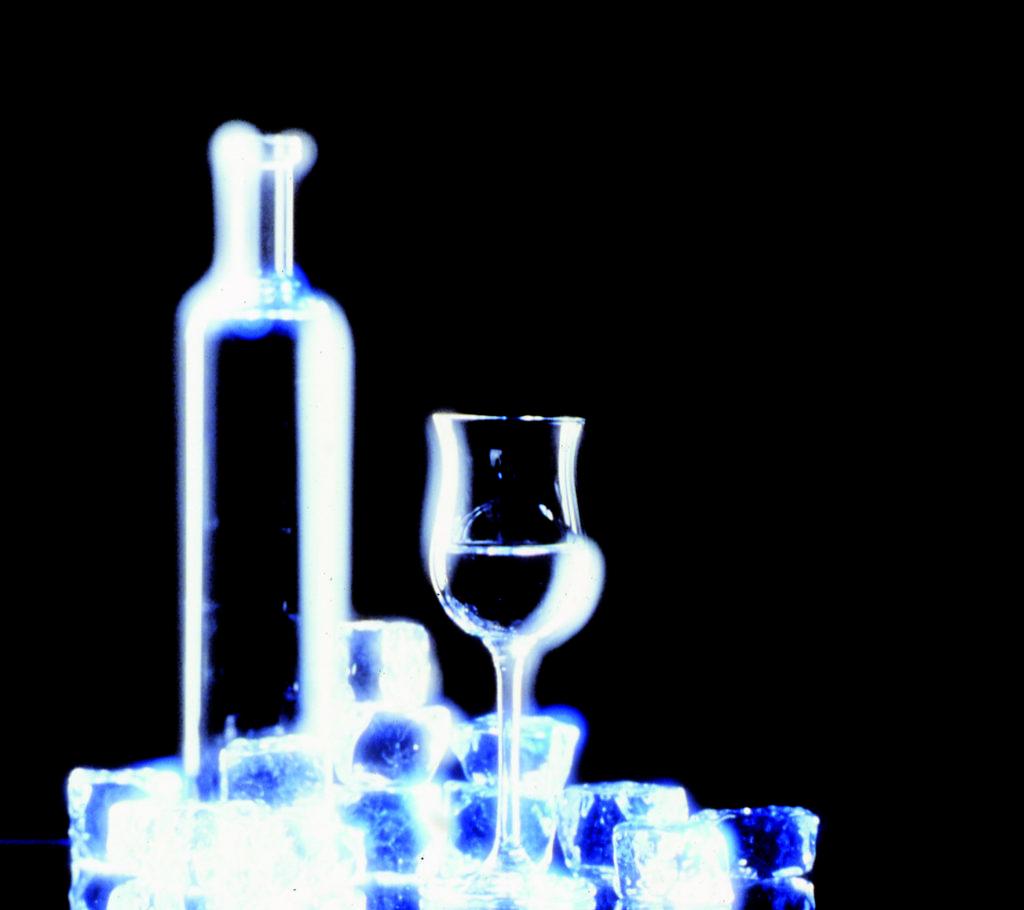 bottiglia ghiaccio