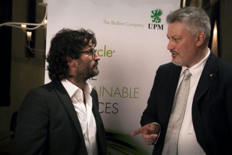 Desiderio Bortolin della Bortolin Angelo Spumanti, direttore vendite di UPM Raflatac