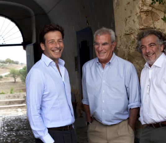 Alberto, Lucio e Giuseppe Tasca d'Almerita