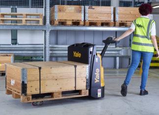 Yale MP Series pedestrian pallet truck
