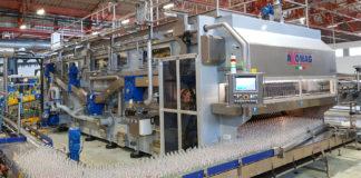 La nuova lavabottiglie Hydra 8.2 per il lavaggio delle bottiglie di vetro di recupero presso PepsiCo
