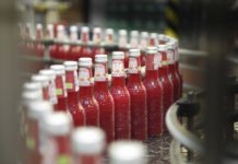 bottiglie aranciata rossa Galvanina