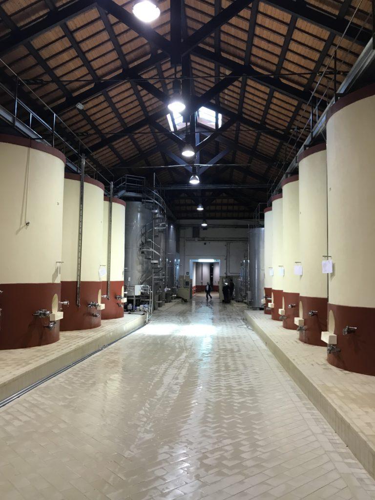 Impianti cantina Donnafugata